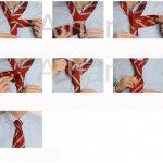 كيفية عمل ربطات العنق2 Size:90.40 Kb Dim: 717 x 638
