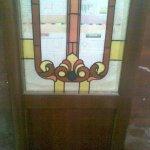 رسم بارز على الزجاج