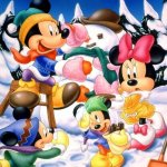 Mickey Mouse background 4 Size:106.00 Kb Dim: 1024 x 768
