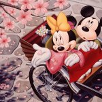 Mickey Mouse background 6 Size:353.30 Kb Dim: 1024 x 768