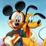 Mickey Mouse background 11 Size:156.50 Kb Dim: 1024 x 768