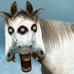 صورة حصان غريبة Size:130.90 Kb Dim: 450 x 374
