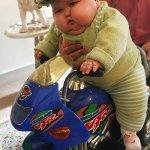 الرضيع الذي بلغ 20 كيلوغراما 9