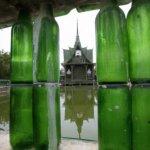 معبد الزجاجات في تايلاند8
