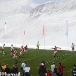 أغرب مباراة في العالم على جبل4