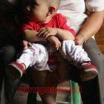 طفل إندونيسي له ذيل ..!!1