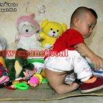 طفل إندونيسي له ذيل ..!!2