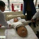 صيني يعيش بنصف جسد1