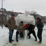 الثلج بالجزائر غير3