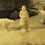 الثلج بالجزائر غير5