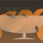 صحن برتقال1