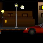 الشارع بالليل1