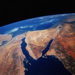 صورة فضائية لقناة سيناء