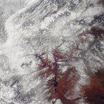 الثلوج تغطي صحراء أمريكا