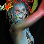 الفن والرسم على الجسد3