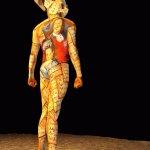 الفن والرسم على الجسد6