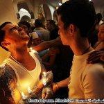 يحرق جسمه بالشموع لشفاء اخته 1