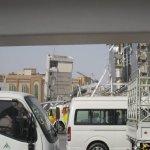 انهيار مبني في دبي1