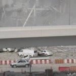 انهيار مبني في دبي7
