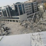 انهيار مبني في دبي9