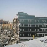 انهيار مبني في دبي10