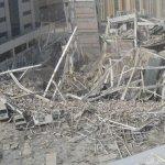 انهيار مبني في دبي11