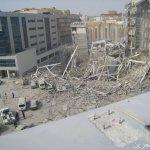انهيار مبني في دبي12