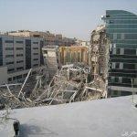 انهيار مبني في دبي13