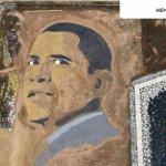 وجه الرئيس أوباما على 2.5 فدا1