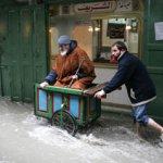 صور الأمطار العنيفة على غزة 6