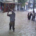 صور الأمطار العنيفة على غزة 8