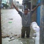 صور الأمطار العنيفة على غزة 14
