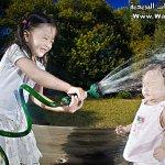 أب التقط صور جميلة لبناته13