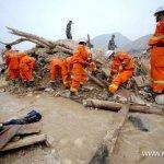 آثار الفيضانات والانزلاقات ال7