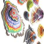 فن الاوراق الملونه 3