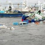صور مرعبة من تسونامي وزلزال ا9