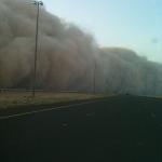 صور العاصفة الرملية - الكويت 8