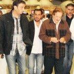 وصول جثمان الفنان منصور المنص2