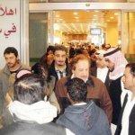 وصول جثمان الفنان منصور المنص4