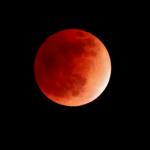 صور سريعه لــ خسوف القمر 4