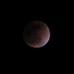 صور سريعه لــ خسوف القمر 5