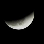 صور سريعه لــ خسوف القمر 10