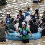 إعصار ووشي في الفلبين يحصد أك3