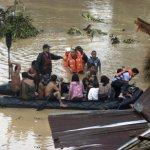 إعصار ووشي في الفلبين يحصد أك10