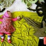 ام تبدع في تصوير ابنتها وهي ن3