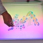 فن الرسم على الماء 5