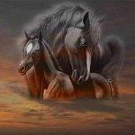 خيول horses14 Size:17.10 Kb Dim: 399 x 400