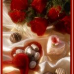 الورد الأحمر