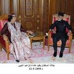 جلالة السلطان زيارة ليبيا1