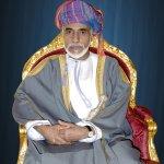 السلطان قابوس بالزي الرسمي